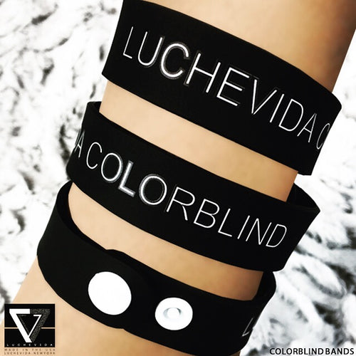 COLORBLIND Unisex Wristband By LUCHEVIDA