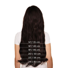Load image into Gallery viewer, Remy Hair Clip in Human hair Extensions Double Weft Long Soft Straight 10 Pieces Thick to Ends Full Head