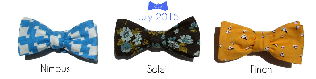 HIM Clothing - Past Bow Tie of the Month Club Collections - July 2015