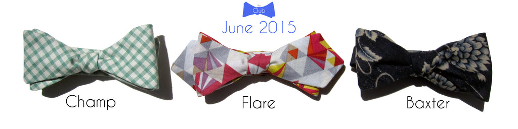 HIM Clothing - Past Bow Tie of the Month Club Collections - June 2015