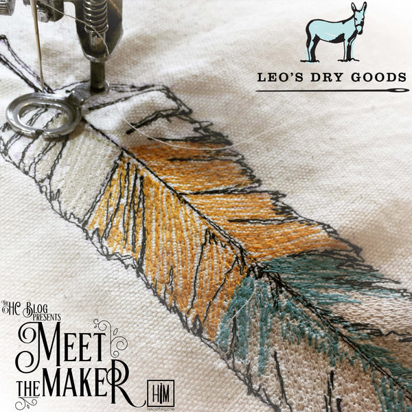 Meet the Maker - Leo's Dry Goods HIM Clothing Handmade Neckties Bow Ties Pocket Squares Tie Bars Lapel Flowers Shoelaces Local Denver Colorado Custom Wedding Groomsmen Gifts Mens Clothing Vintage Inspired Classically Constructed