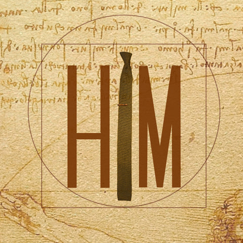HIM Clothing - EST. 2013: Vitruvian Line Logo