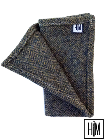 HIM Clothing - Pendleton Wool Pocket Squares Classic Vintage Local Denver Colorado Custom Wedding Groomsmen Gifts Mens Clothing Neckties Bow Ties Pocket Squares Tie Bars Lapel Flowers Shoelaces