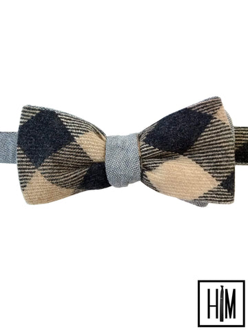 HIM Clothing - Pendleton Wool Reversible Bow Ties Classic Vintage Local Denver Colorado Custom Wedding Groomsmen Gifts Mens Clothing Neckties Bow Ties Pocket Squares Tie Bars Lapel Flowers Shoelaces