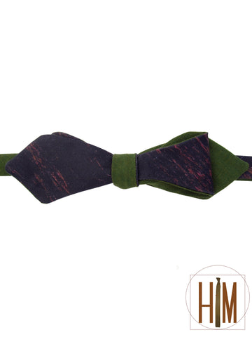 Thunder Reversible Bow Tie