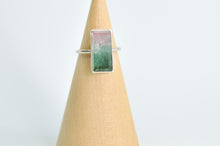 Load image into Gallery viewer, Faceted Watermelon Tourmaline Size 7