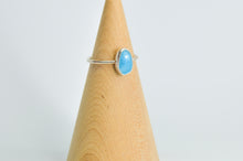Load image into Gallery viewer, Rose cut Larimar Size 7.75