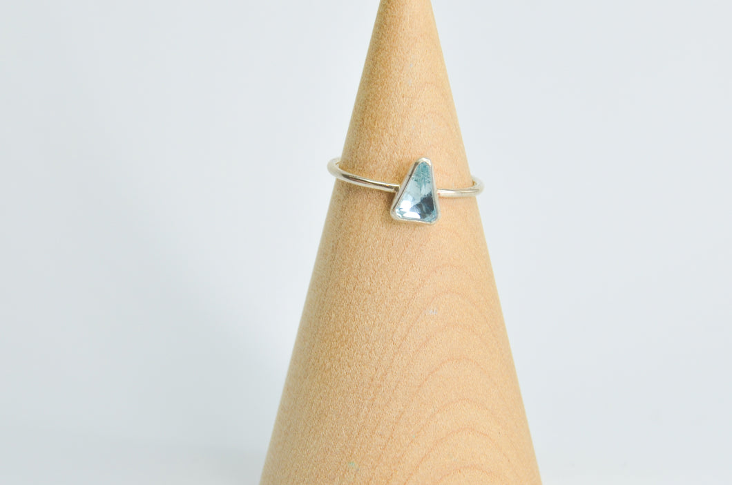 Aquamarine RIng size 8.25