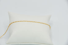Load image into Gallery viewer, 14k Yellow Gold Fill Mini Paperclip Chain Bracelet