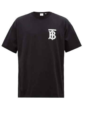 Burberry TB Motif Tee (Black)