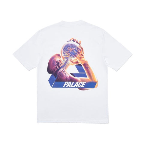 Palace Tri-Gaine Tee (White)