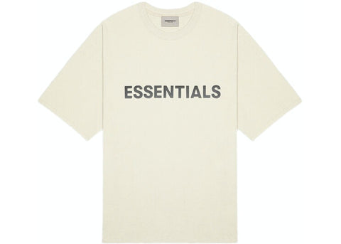 Fear of God Essentials 3D Applique S/S Tee (Cream)