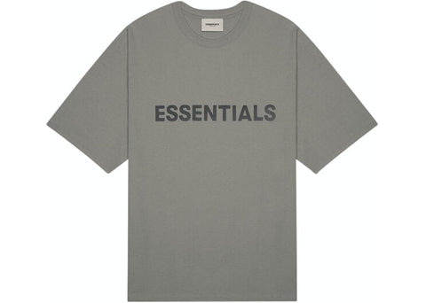Fear of God Essentials 3D Applique S/S Tee (Charcoal)