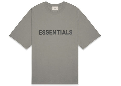 Fear of God Essentials 3D Applique S/S Tee (Cement)