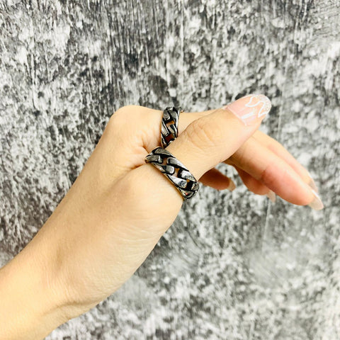 "EXIT ""Chain"" Ring"