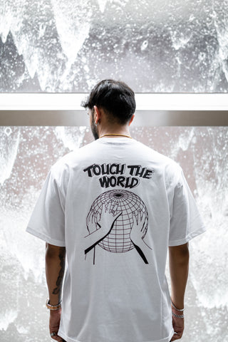 EXIT Touch The World Tee (White)