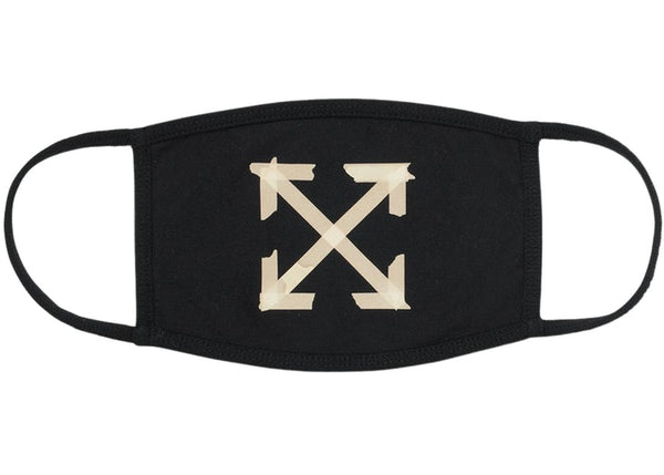 Off-White Tape Arrows Mask