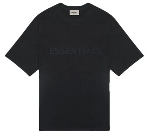 Fear of God Essentials 3D Applique S/S Tee (Black)