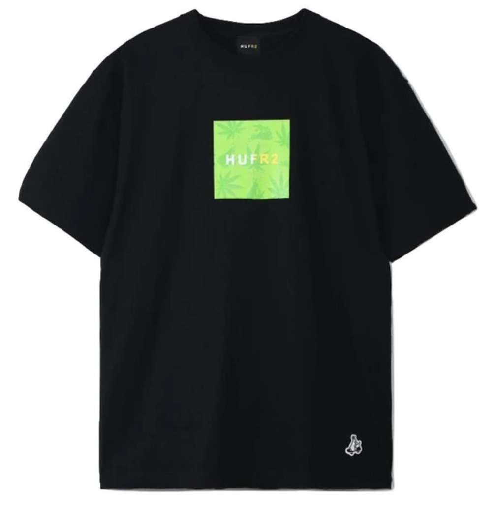 FR2 x HUF Box Logo Tee (Black)