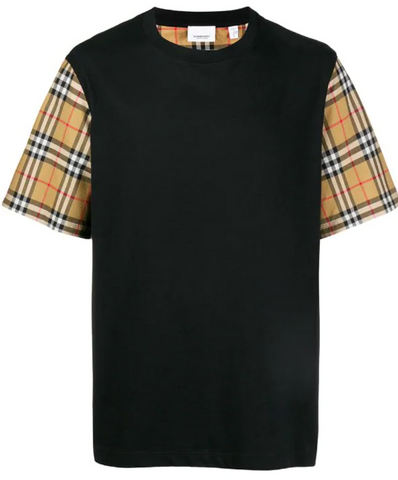 Burberry Vintage Check Tee (Black)