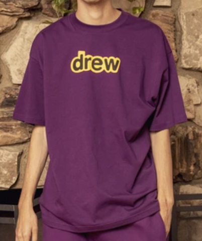 Drew House Secret Logo Tee (Purple)