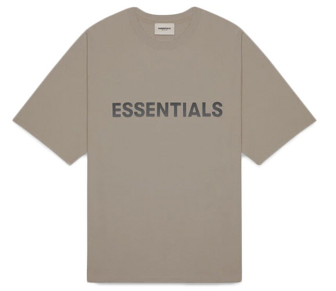 Fear of God Essentials 3D Applique S/S Tee (Taupe)