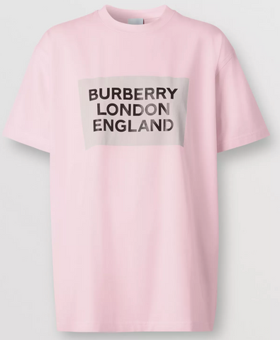 Burberry London England Box Tee (Pink)