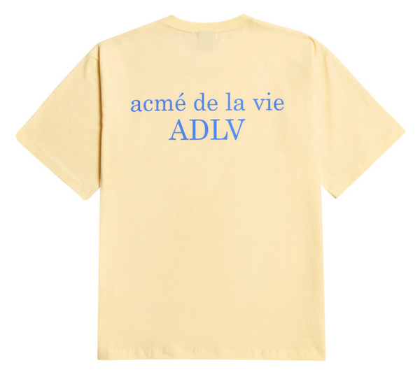 ADLV Basic Coloured Tee (Yellow)