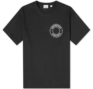 Burberry SS21 Circle Logo Tee (Black)