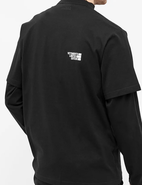 VETEMENTS Limited Edition Tee (Black)
