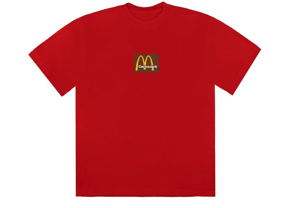 Travis Scott x McDonald's Sesame Inverse Tee (Red)