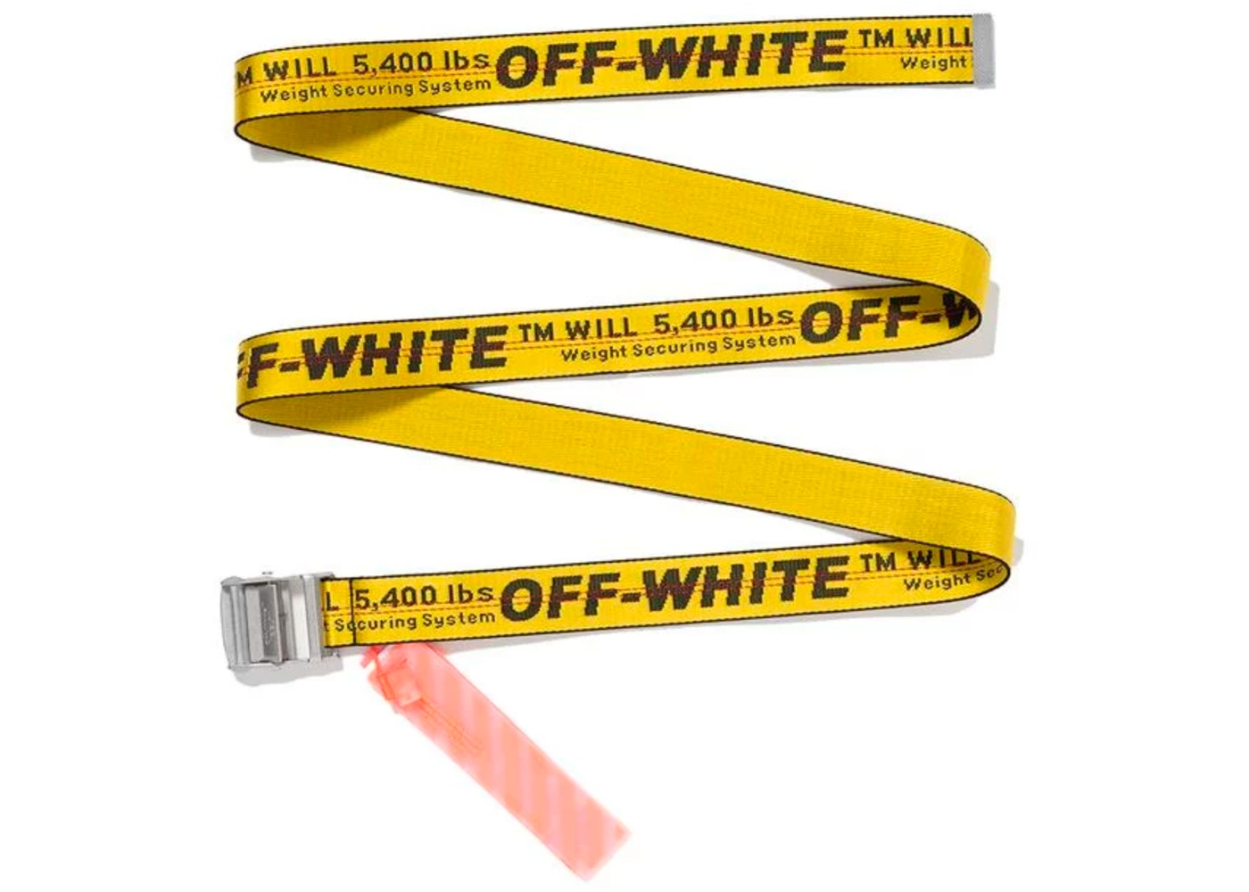 Off-White MCA Figures of Speech Belt (Yellow)