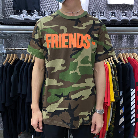 VLONE Orange Friends Tee (Camo)