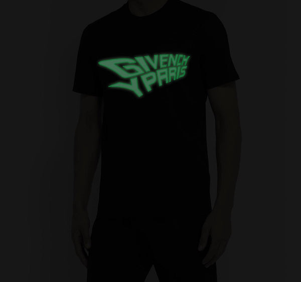 Givenchy Glow in the Dark Tee (Black)