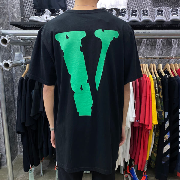 VLONE Staple Green V Tee (Black)