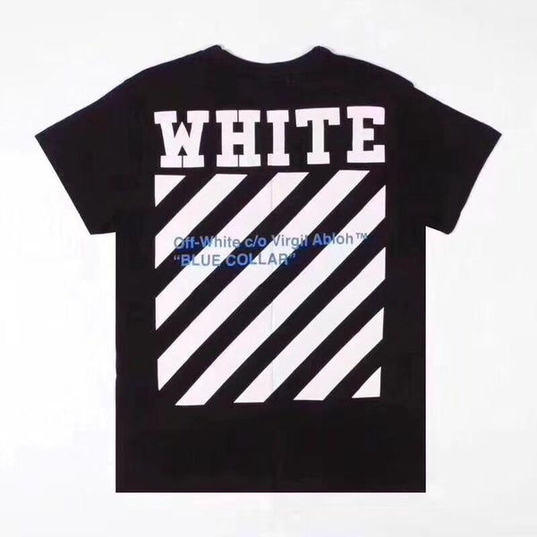 Off-White Blue Collar Tee (Black)