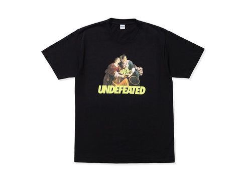 Undefeated Racquet Tee (Black)