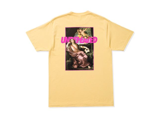 Undefeated Yellow Card Tee (Yellow)