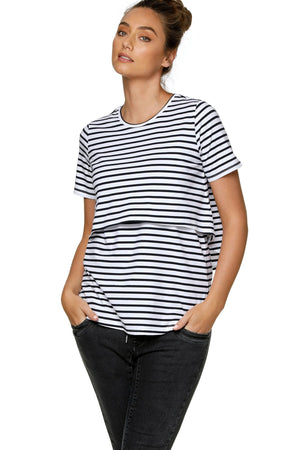 On My Way Tee - Nursing & Maternity Clothes