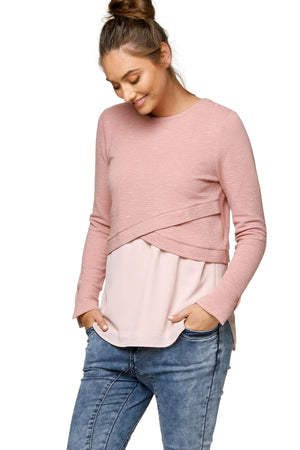 Cross Your Heart Crop Top - Nursing & Maternity Clothes