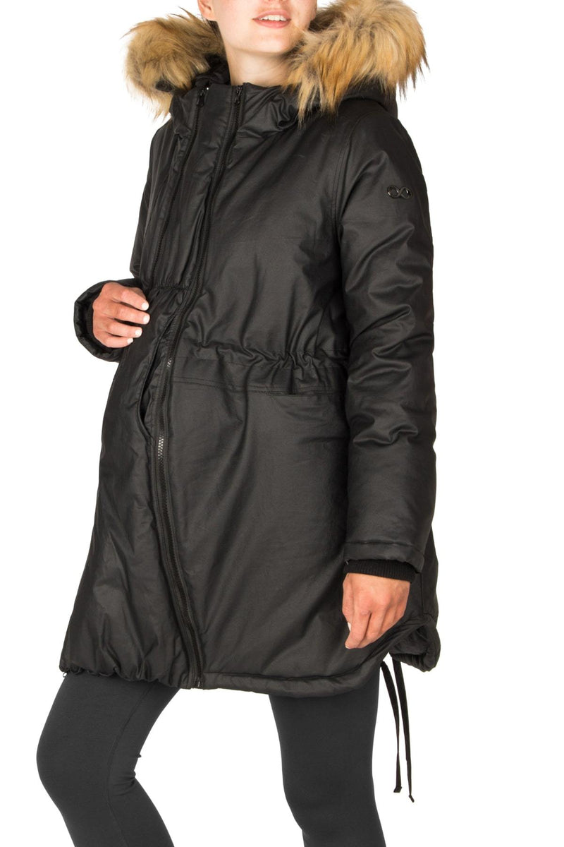 Sofia Waxed 3 in 1 Parka - Nursing & Maternity Clothes