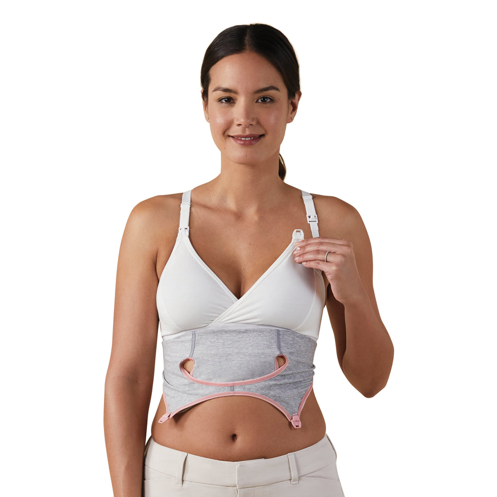 Clip & Pump Hands-Free Nursing Bra - Nursing & Maternity Clothes