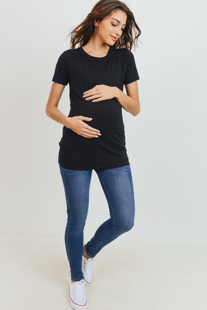 Jersey Scoop Neck Tee - Nursing & Maternity Clothes