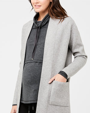 Emily Longline Cardigan - Nursing & Maternity Clothes