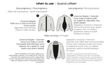 Make My Belly Fit Universal Jacket Extender - Nursing & Maternity Clothes