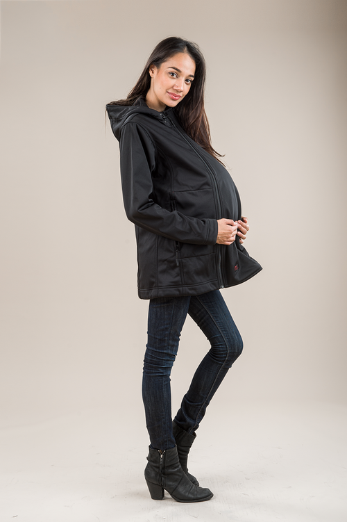3-in-1 Rain Shell - Nursing & Maternity Clothes