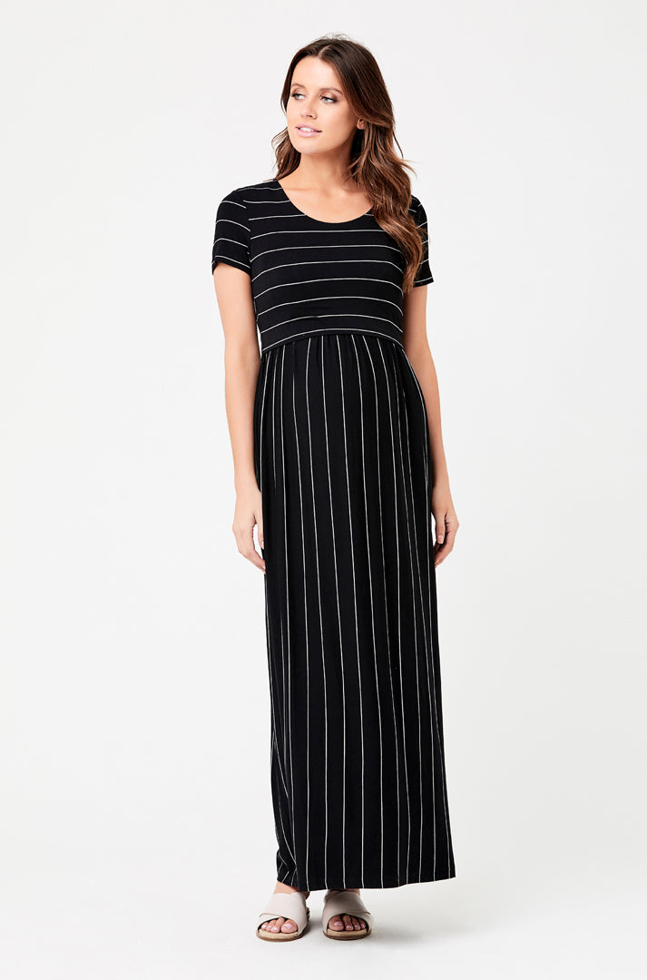 Maxi Crop Top Dress - Nursing & Maternity Clothes