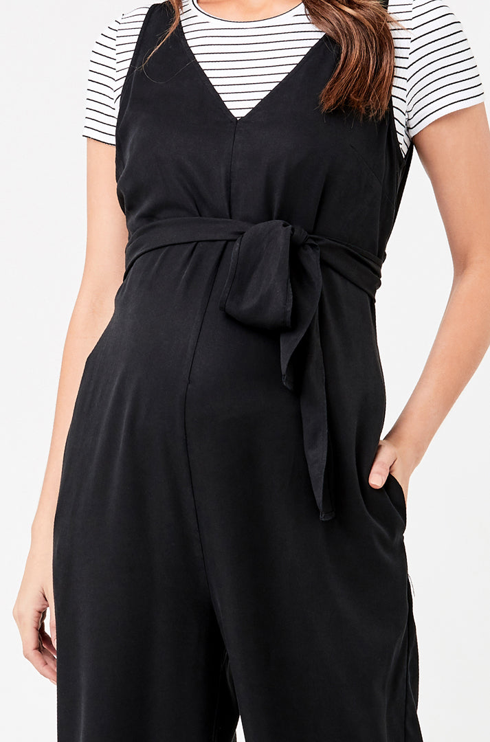 Naomi Tencel Jumpsuit - Nursing & Maternity Clothes