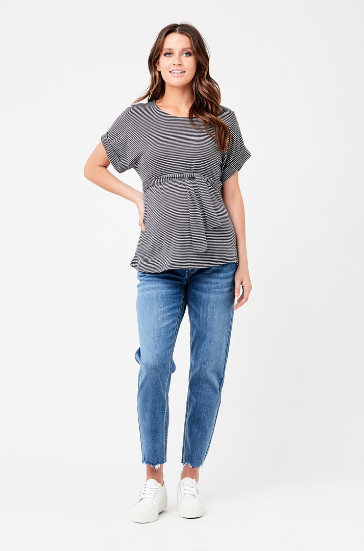 Jamie Raw Edge Jean - Nursing & Maternity Clothes