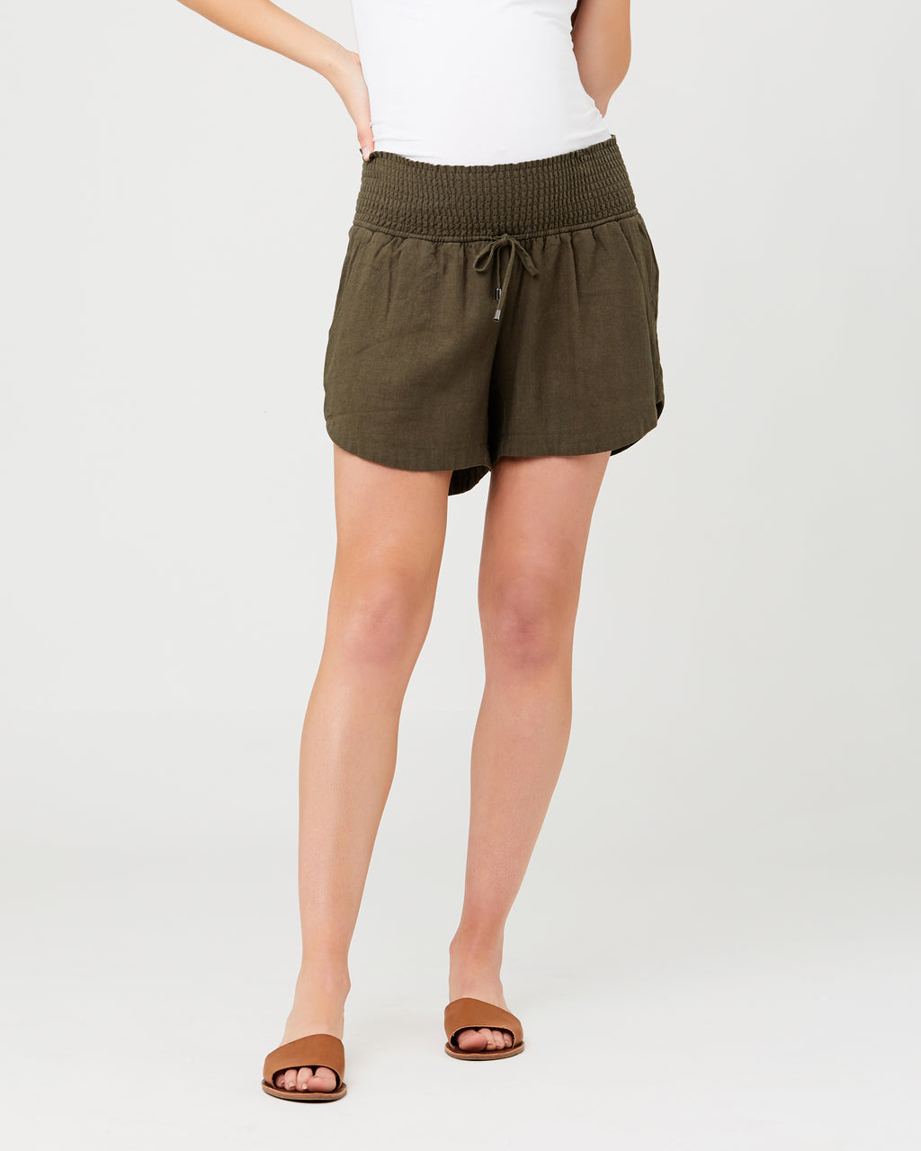 Byron Shirred Short
